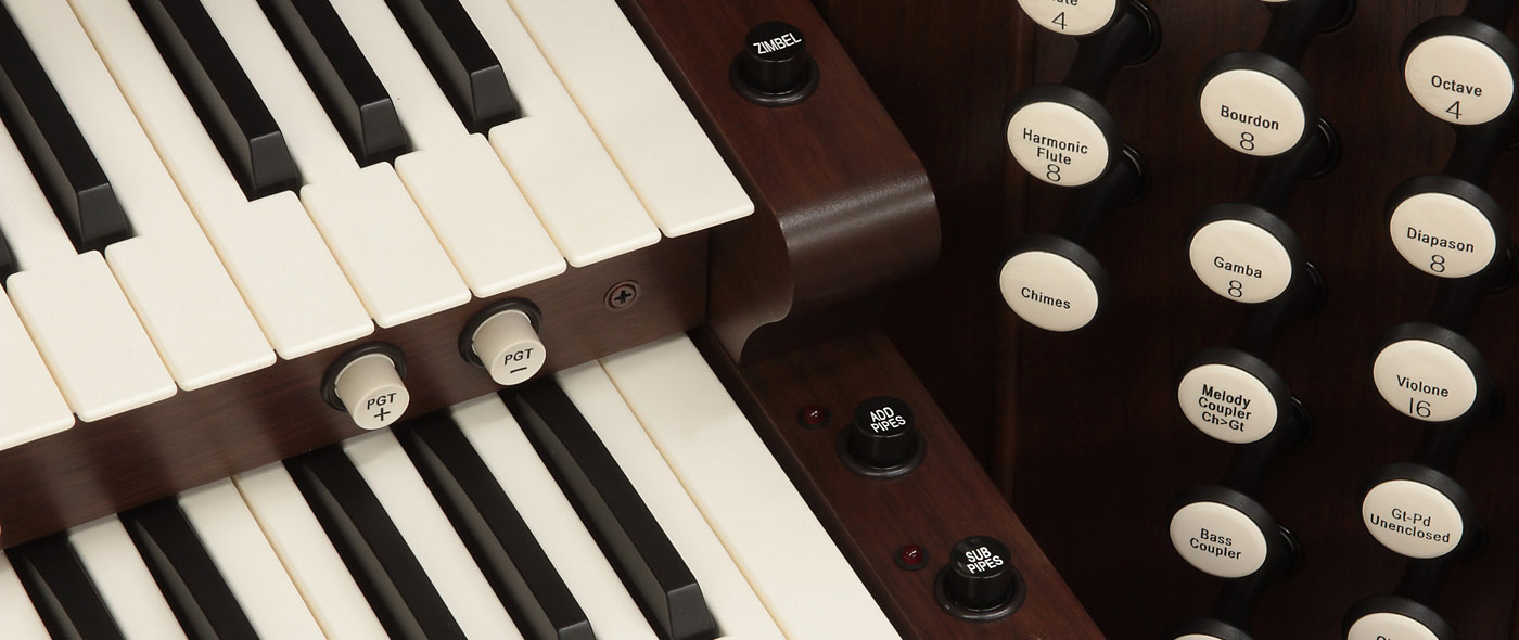 Digital Organs & Pipe Organ Consoles